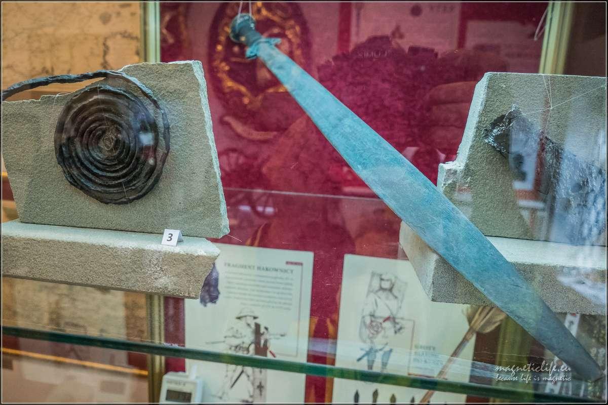 Muzeum wKętach artefakty zzamku