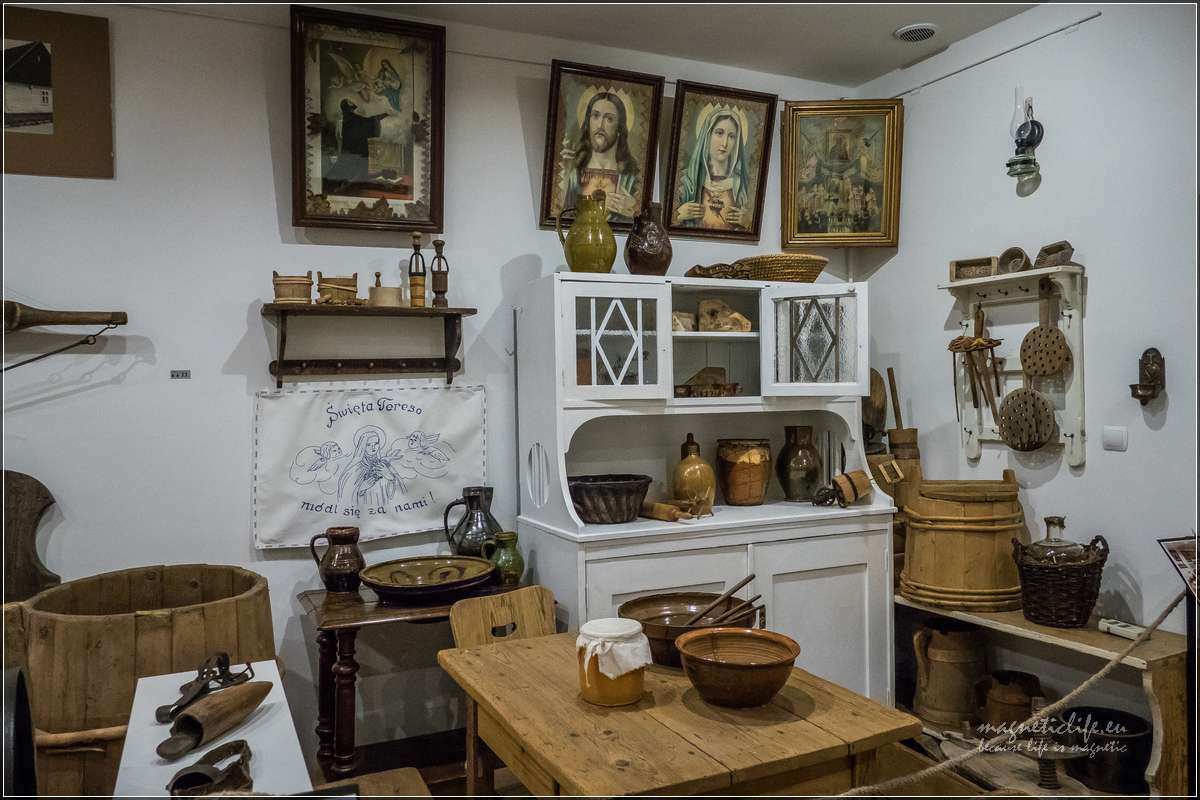 Muzeum wKętach sala etnograficzna